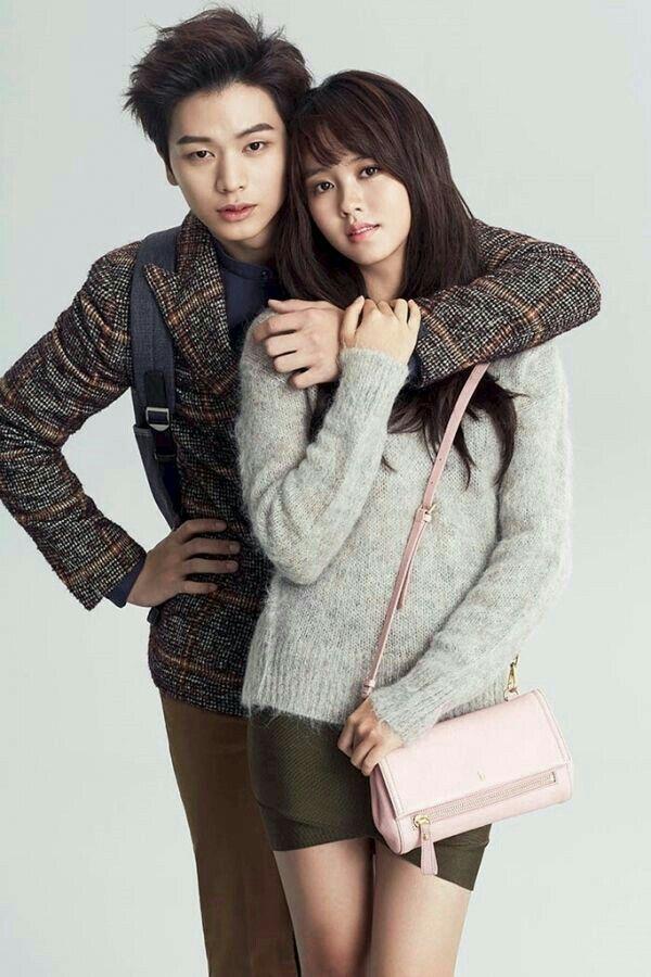 SungJae with SoHyun😆