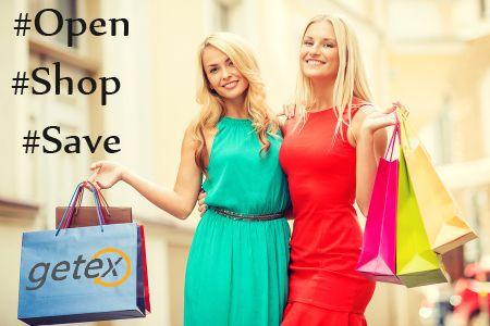 List your Shopping ☛ #Open #Shop #Save @ Getex.com