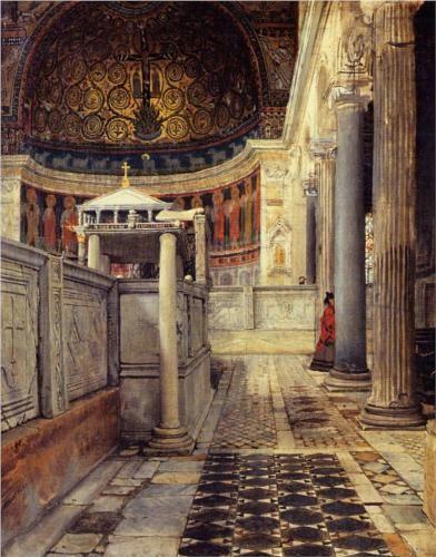 Chiesa San Clemente - Sir Lawrence Alma-Tadema