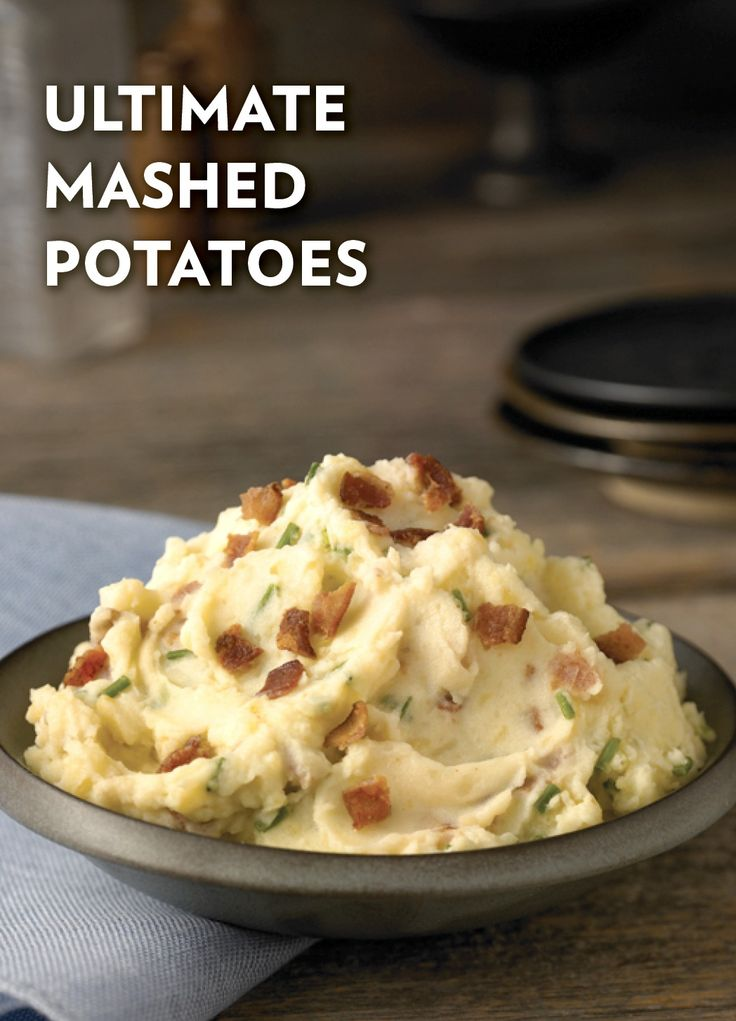 ... Mashed Potatoes | Recipe | Bacon, Mashed potato recipes and Potato