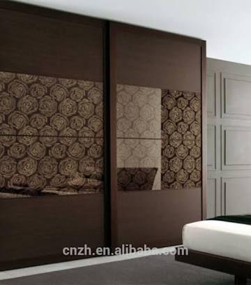 Best 25 wardrobe door designs ideas on pinterest for Bedroom woodwork designs india