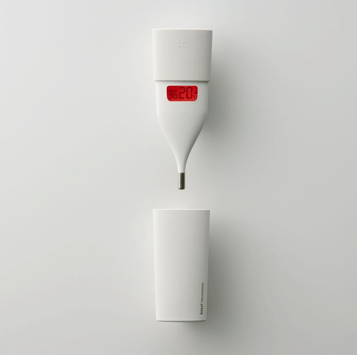 Omron Basal Thermometer design by Fumie Shibata at Design Studio S.