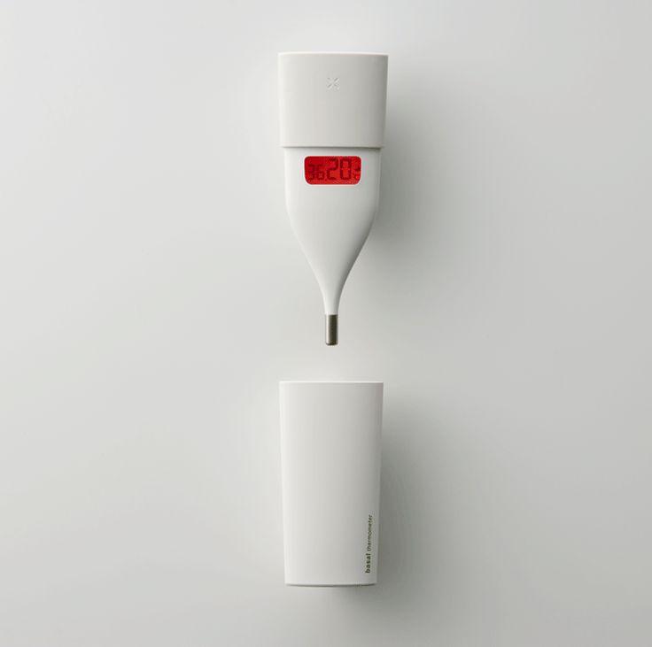 Omron Basal Thermometer design by Fumie Shibata at Design Studio S.