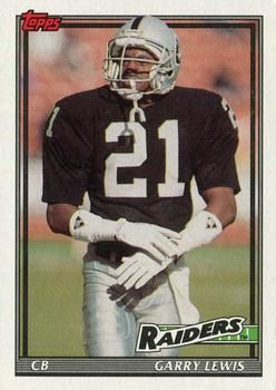 Garry Lewis Jr. (born August 25, 1967) is a former  defensive back who played four seasons in the NFL with the Los Angeles Raiders, Tampa Bay Buccaneers and Kansas City Chiefs. He was drafted by the Raiders in the seventh round of the 1990 NFL Draft. He played college football at Alcorn State University and attended Walter L. Cohen High School in New Orleans, Louisiana. Lewis was also a member of the Ottawa Rough Riders and Hamilton Tiger-Cats of the CFL.