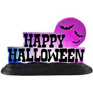 """Отдел 56 Хэллоуин деревня Коллекция Happy Halloween Lit Войдите фары, 2,87 """""""