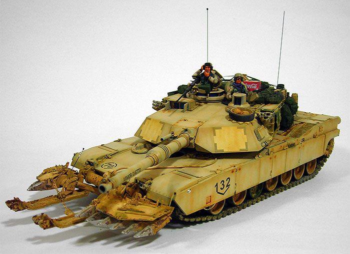 M1A2 Abrams SEP Main Battle Tank (USA)