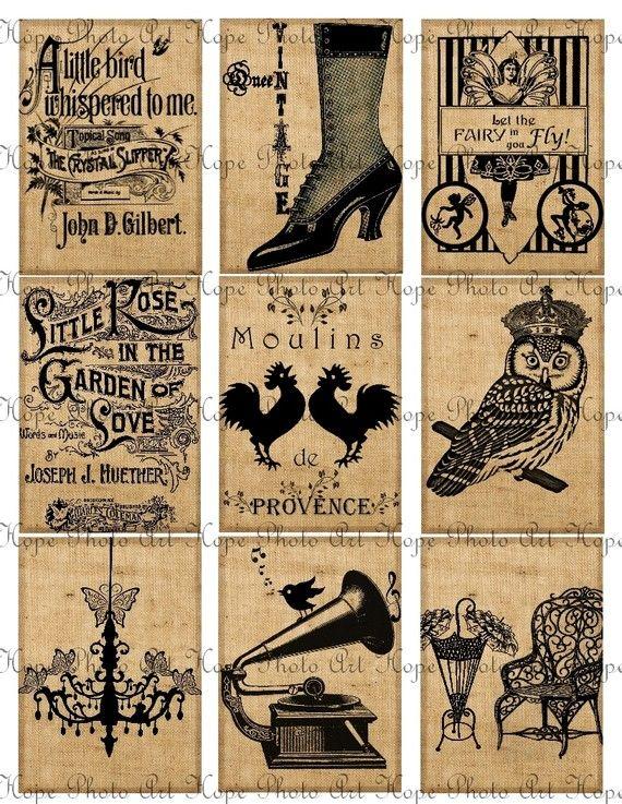 Vintage Tags 2.5x3.5: Vintage Images, Vintage Paris, Vintage Wardrobe, Vintage Tags, Vintage Atc, Vintage Handmade, Gifts Tags, Vintage Diy, Vintage Style