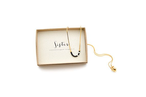 Sister Morse Code Necklace // VerseShop