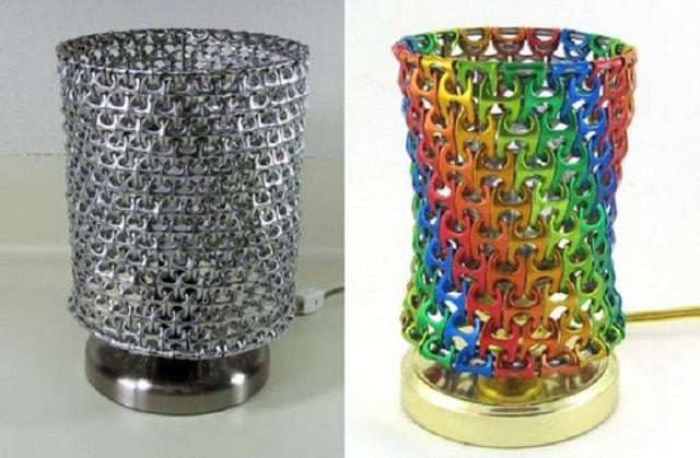 Cómo hacer una lámpara de metal con reciclaje | Ideas para Decoracion ppm