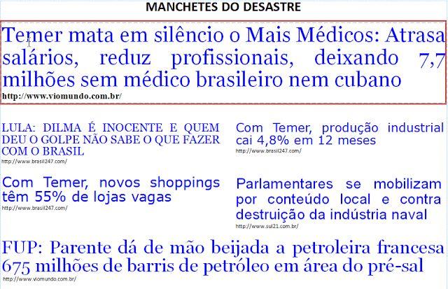 """Além d'Arena: Tributo aos idiotas do """"Fora Dilma!"""" - XXVIII"""