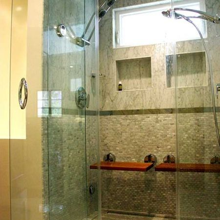 12 best images about walk in shower options on pinterest for Bathroom configurations
