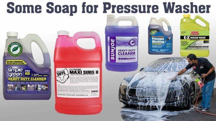 8 Best Pressure Washer Soaps Detergents Reviews Of 2020 Best Pressure Washer Detergent Soap Pressure Washer