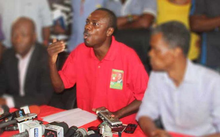 Le candidat à la présidence de Pitit Dessalines, Moïse Jean Charles