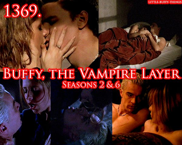 "queenc-x submitted: ""Buffy the Vampire Layer. (Buffy season 2 & season 6)"" ""buffy the vampire layer"" was meant with much love. xD lol :)"""