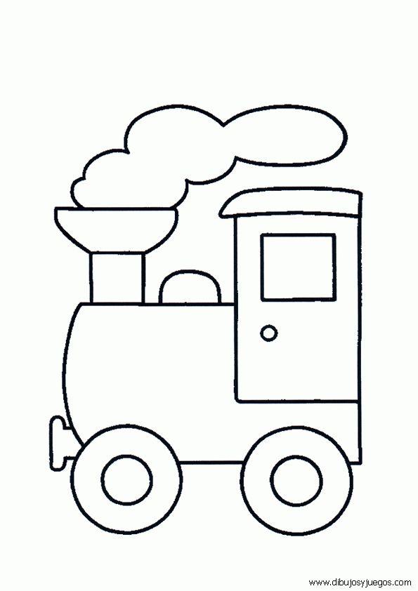 Las 25 mejores ideas sobre trenes para ni os en pinterest - Dibujos para paredes de bebes ...