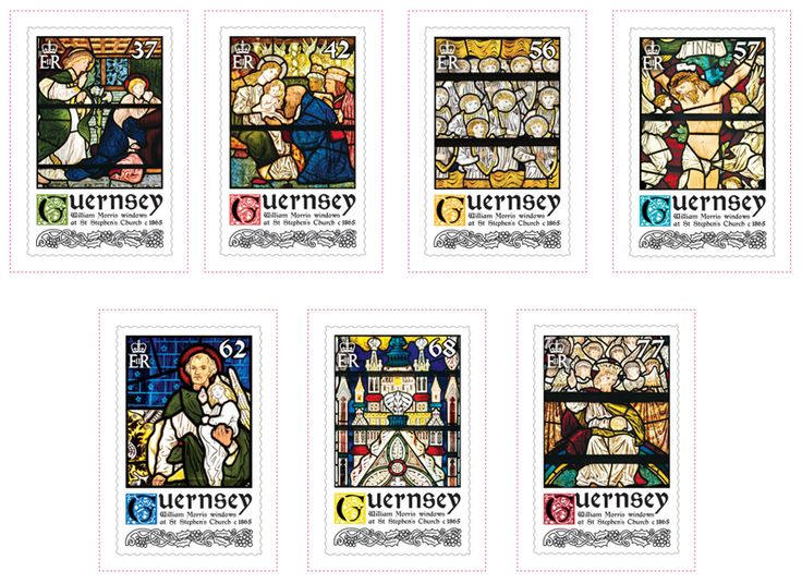 COLLECTORZPEDIA William Morris Stained Glass Windows