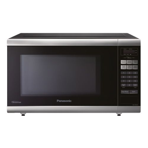Panasonic 1.2 Cu. Ft. Microwave (NNST661B) - Stainless Steel - Black  #BBYSocialStudies