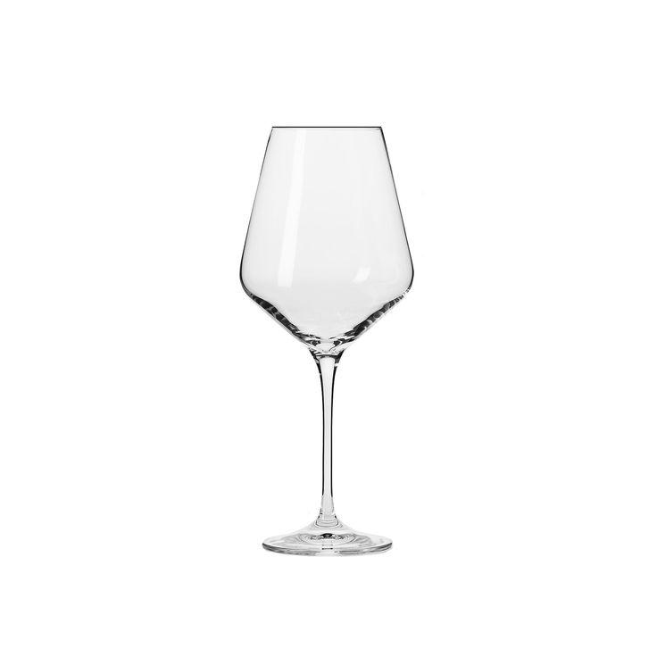 Krosno Vera 6-pc. Large Wine Glass Set, Multicolor