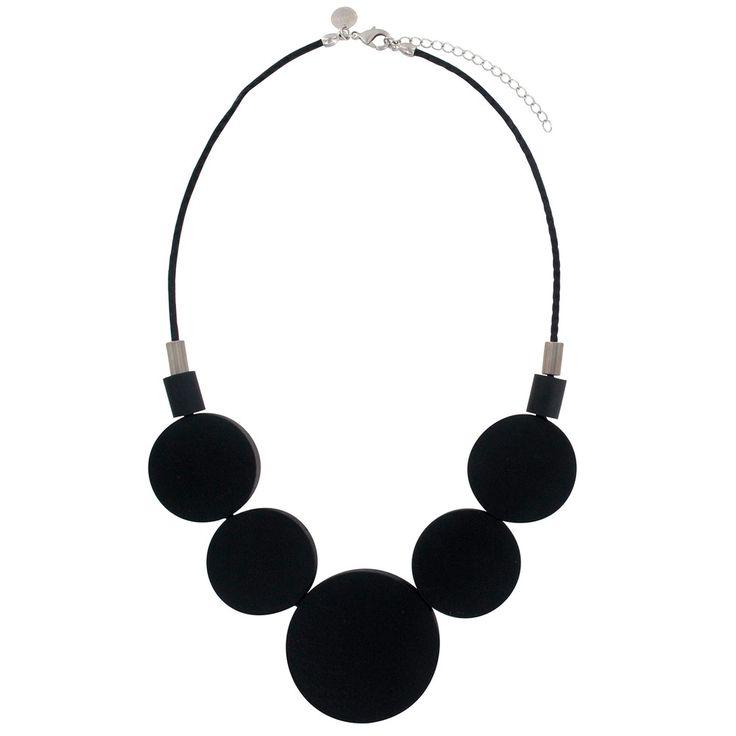 aarikka Oona Black Necklace
