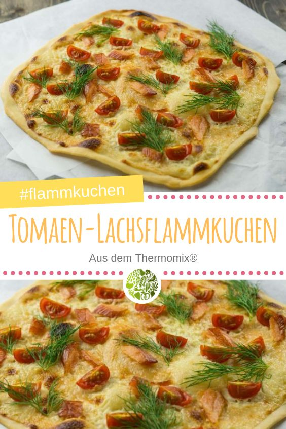 tomaten lachs flammkuchen belag f r 4 st ck recipe. Black Bedroom Furniture Sets. Home Design Ideas