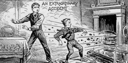 백년전의 영국-날벼락