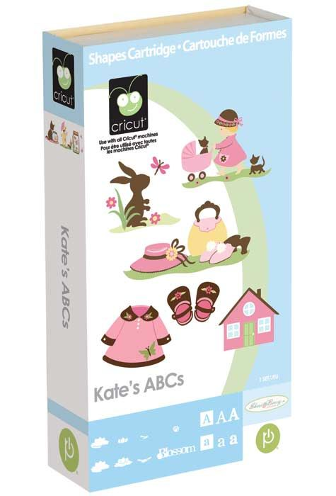 Kate's ABCs Cricut Cartridge