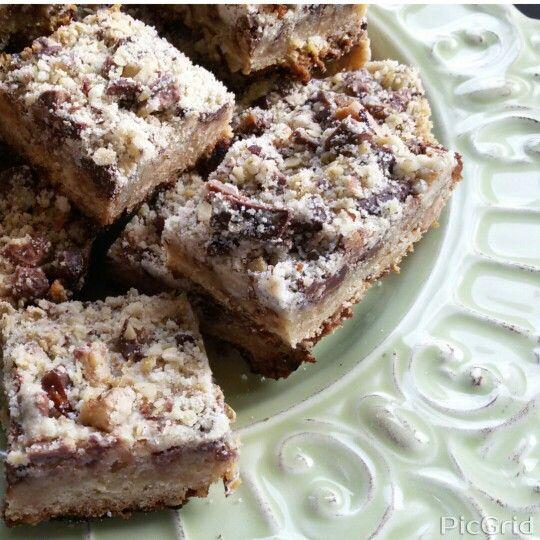 ♦Quadrados de chocolate e manteiga de amendoim ♦Mafalda ♦Homemade/ Feito em casa