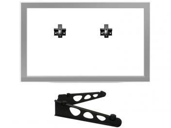 """Suporte para TV Fixo 10"""" até 85"""" - Smart TV/LED/LCD/Plasma/3D - Brasforma SBRU 771"""