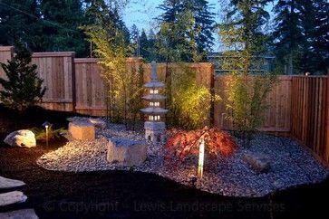 oriental patio lights ideas | Pagoda Japanese Asian Garden Landscape L Design Ideas, Pictures ...