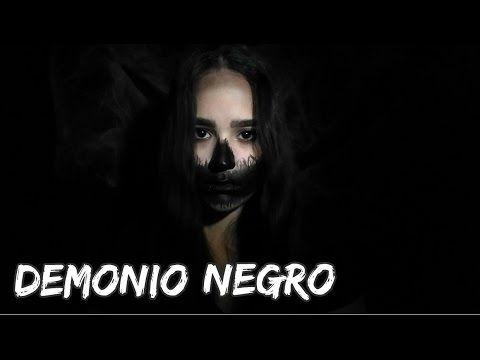 Maquillaje Demonio Negro 😈 | Halloween 2016 🎃