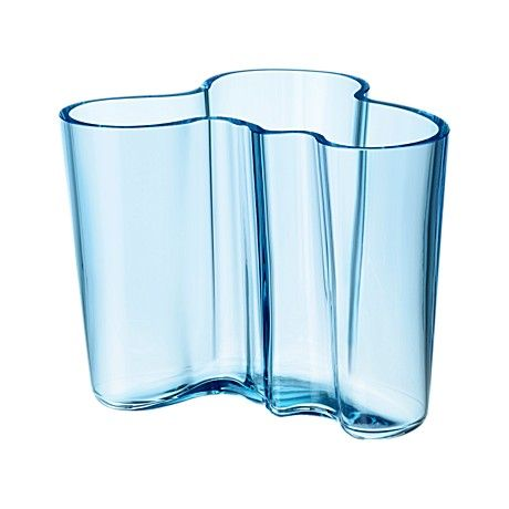 Iittala - Alvar Aalto Collection Vase 120 mm light blue - $125