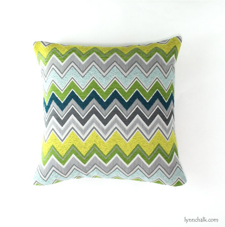 Custom Pillows by Lynn Chalk in Schumacher Zenyatta Mondatta (shown in Peacock-comes in 5 colors), $175.00 (http://store.lynnchalk.com/schumacher-zenyatta-mondatta-pillows-shown-in-peacock-comes-in-5-colors/)
