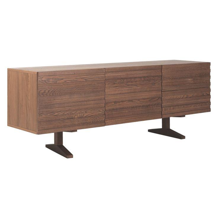ENZO Walnut-stained sideboard