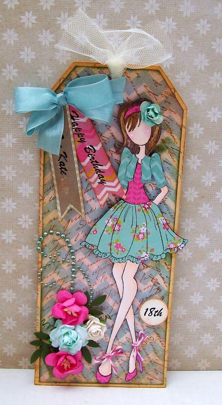 Artfull Crafts - Julie Nutting dolls from Prima