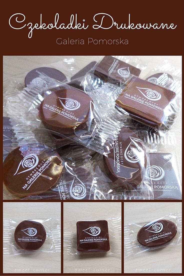 Czekoladki Drukowane z logo Galeria Pomorska
