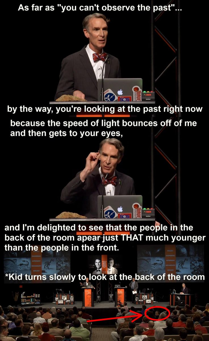 From the Bill Nye debate the other night - Imgur
