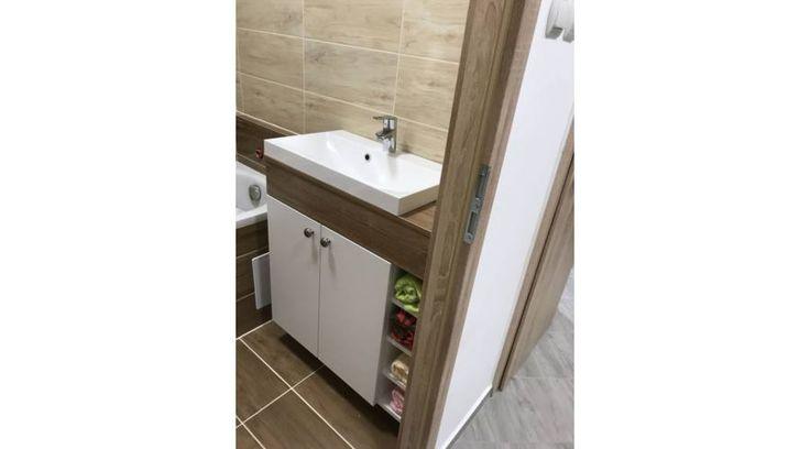 Lakótelepi kis fürdőszobába fürdőszobabútor