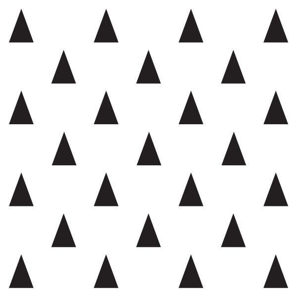 Mini Triangles Mur Wall Decals Baby Shortcake