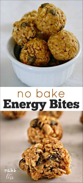 I tried these no bake energy bites and they were a hit. So easy to make - only 10 minutes! My kids loved these energy balls. A great on the go breakfast.