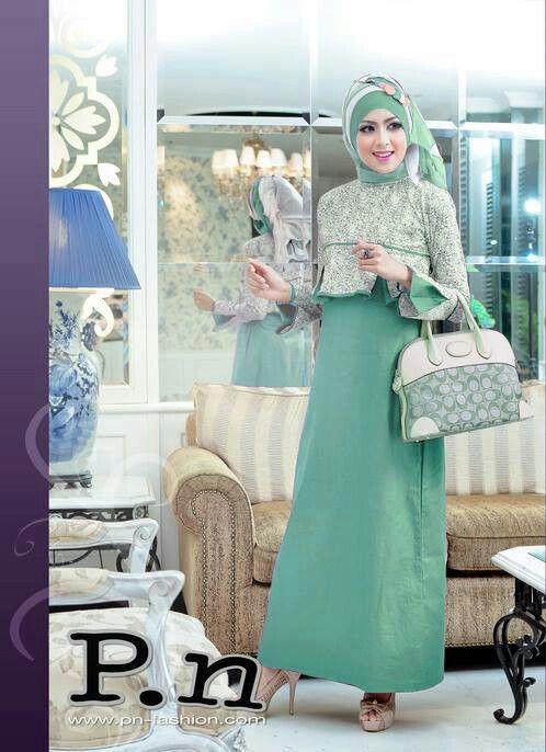Hijab / hijabi ladies women fashion styles in Islam.