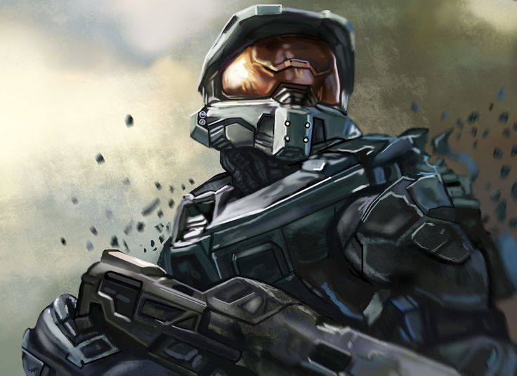 67 best images about halo on pinterest halo 3 odst halo - Master chief in halo reach ...