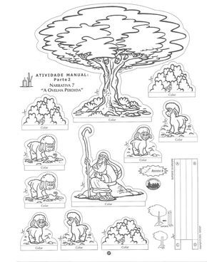 Video de la Parábola de la Oveja Perdida. Dibujos para colorear de la Oveja Perdida Colorea las ovejas perdidas. ¿Cuántas puedes encontrar?...