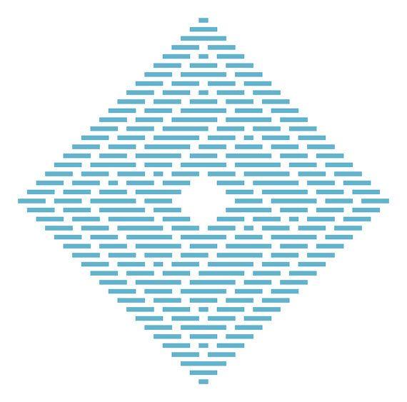 Kogin Embroidery Pattern: QuarkBeast Brick