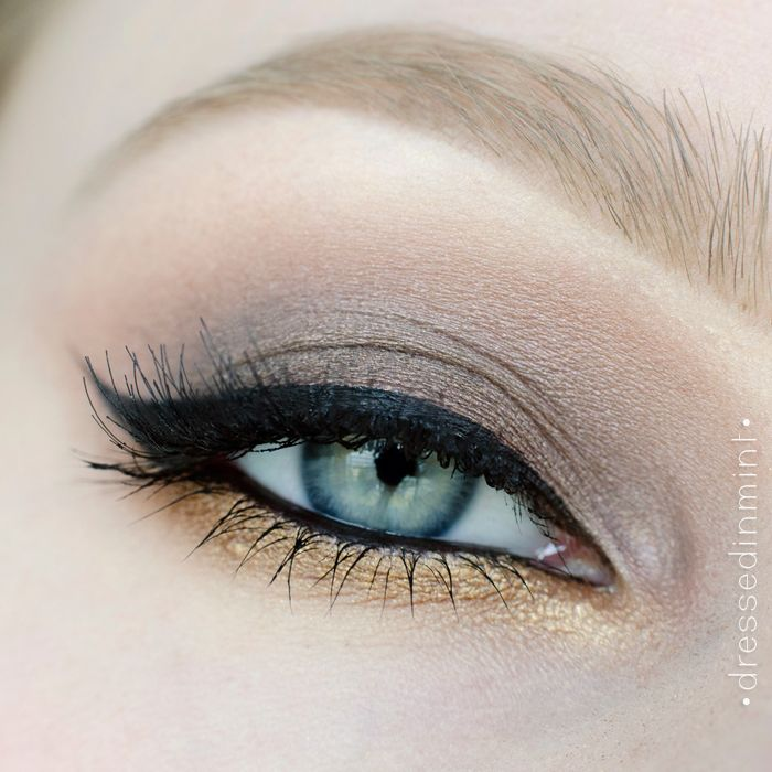 Dressed in Mint: Makeup Revolution ICONIC 1 - step by step + swatche