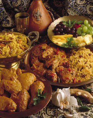 Cape Malay food.