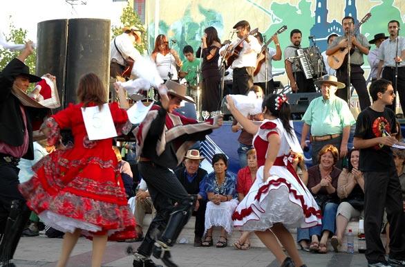Baile en la fiesta huasa - Rancagua - O´Higgins - Chile #places