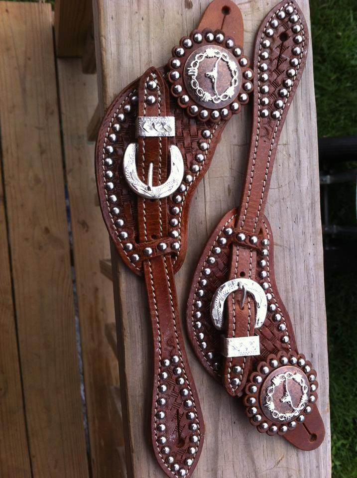 longhorn spur straps