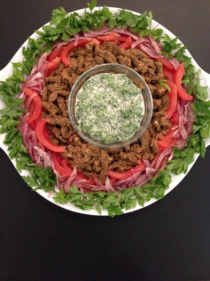 How to Make Shawarmah  شاورما Шаурмы Ливанская кухня