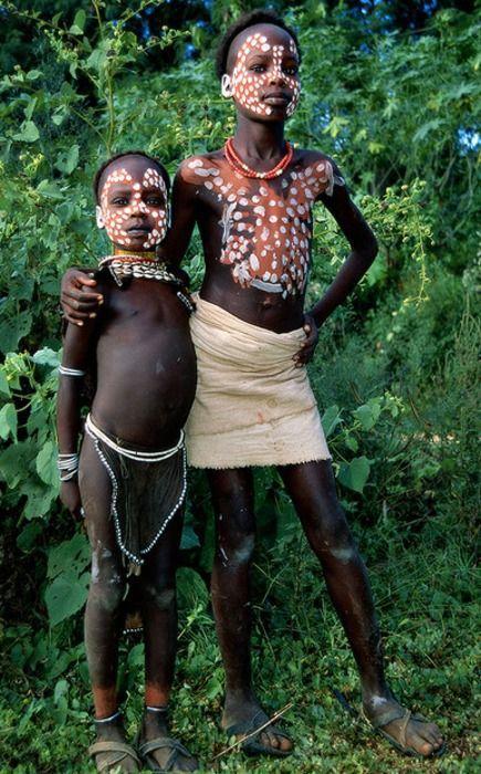 Секс в племени нуби