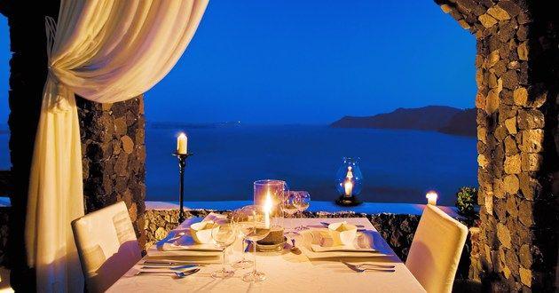 Canaves Oia Hotel in Santorini, Greece